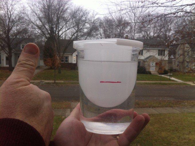 fill line for a nICE mug mold