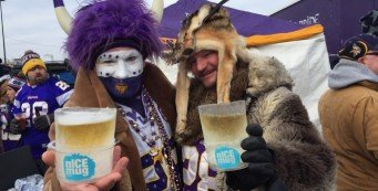 Minnesota Vikings fans.