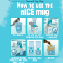 Instructions for the nICE mug retail kit.