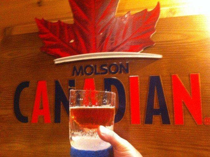 MOLSON canadian nICE mug