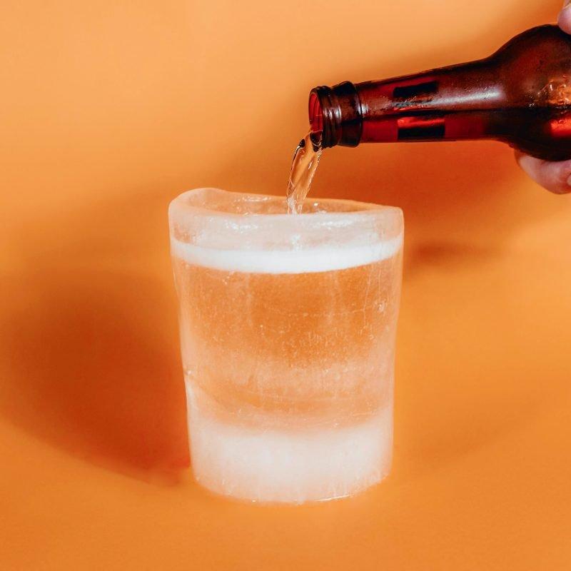 Beer Pouring into nICE Mug
