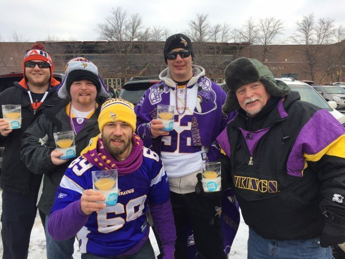 Vikings guys digging nICE mug