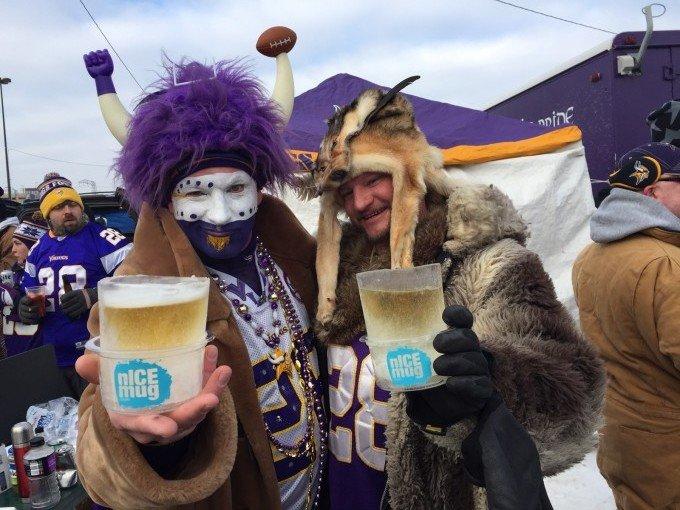 Minnesota Vikings fans.
