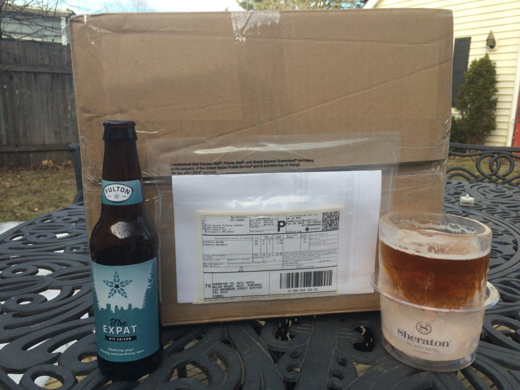 nICE mug shipment to Sheraton Tel Aviv